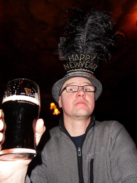 Guinness zum Jahresanfang !